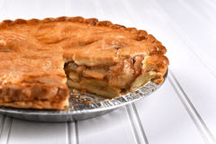 Apple Pie Slice Missing Stock Photography