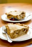 Apple pie slices stock images