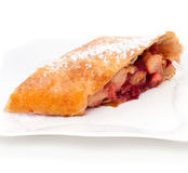 Apple pie (strudel) Royalty Free Stock Photo