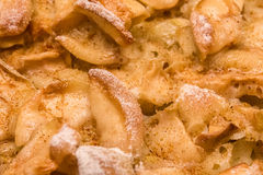 Apple pie texture Stock Photo