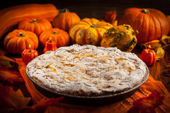 Apple pie for Thanksgiving Royalty Free Stock Photos