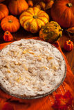 Apple pie for Thanksgiving Royalty Free Stock Photography