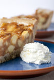 Apple Pie and Whipped Cream Royalty Free Stock Photo