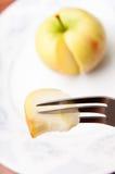 Apple piece Stock Photos