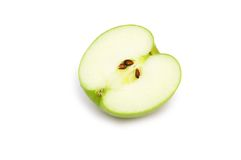 Apple piece isolated Royalty Free Stock Image