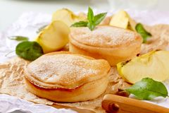 Apple pies Royalty Free Stock Photo