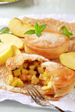 Apple pies stock images