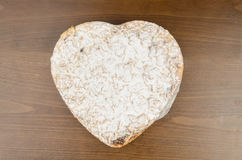 Apple Pies Heart Shaped for Valentine's Day Stock Photo