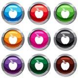 Apple a placé la collection 9 Images libres de droits