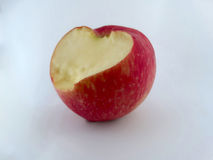 Apple. Placed on a white background Stock Image
