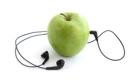Apple player Royalty Free Stock Photo