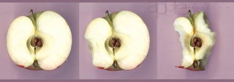apple pokusy. Fotografia Royalty Free