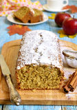 Apple pound cake. Royalty Free Stock Photography