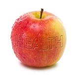 Apple pour la santé Image libre de droits