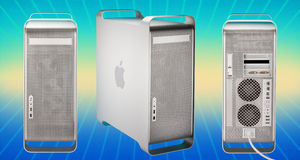 Apple Power Mac G5 Computer (2003-2006) royalty free illustration
