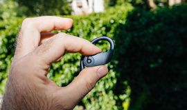 Apple Powerbeats Pro Beats by Dr Dre stock photo