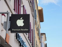 Apple Premium Reseller Royalty Free Stock Image