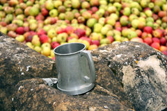 Apple Pressing Stock Image