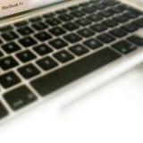 Apple pro-Macbook (late-2013) Fotografering för Bildbyråer
