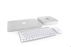 Apple products Royalty Free Stock Photo