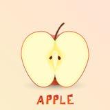 Apple progetta l'elemento Illustrazione di Stock
