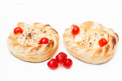 Apple puff pastry Stock Photos