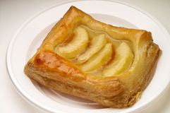 Apple puff pastry dessert Royalty Free Stock Images