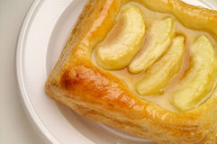 Apple puff pastry dessert Royalty Free Stock Photography