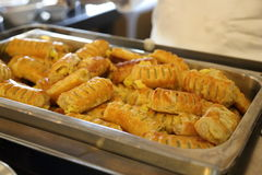 Apple puff pastry Royalty Free Stock Images