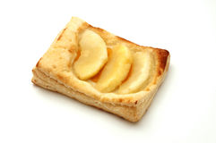 Apple puff pastry tartlet Stock Image