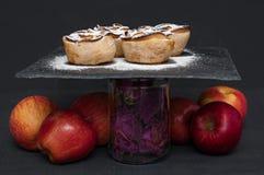 Apple puff rolls Stock Photography