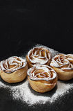 Apple puff rolls Royalty Free Stock Images