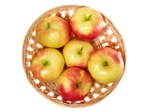 Apple in the punnet Stock Photos