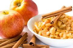 Apple puree Royalty Free Stock Photography