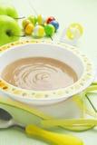 Apple puree, baby food Stock Photography