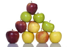 Apple Pyramid Royalty Free Stock Image