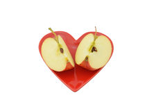 Apple Quarters Stock Photos
