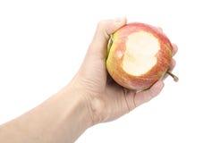Apple räcker in Fotografering för Bildbyråer