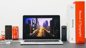 Apple règlent le ton avec Images stock