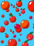 Apple rain Royalty Free Stock Image