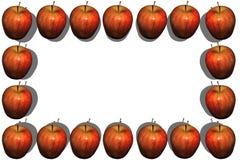 Apple rama Zdjęcia Stock