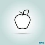 Apple rayent l'icône illustration libre de droits