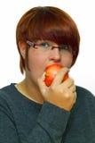 apple red Στοκ εικόνες με δικαίωμα ελεύθερης χρήσης