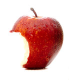 Apple in red Royalty Free Stock Image