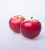 Apple or red apple on a background. Stock Photo
