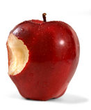 Apple red delicious Imágenes de archivo libres de regalías
