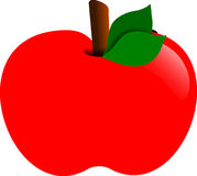 Apple, Red, Fruit, Food, Healthy Royalty Free Stock Images