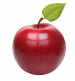 Apple red isolated Royalty Free Stock Images