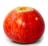 Apple red  macro Royalty Free Stock Images