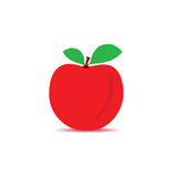 Apple red vector Royalty Free Stock Photos